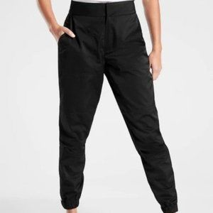Athleta Radiant Joggers size 10P Black